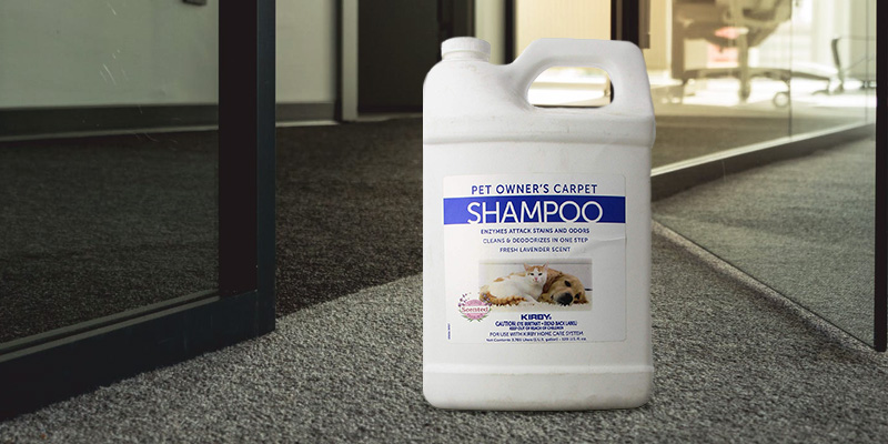 Review of KIRBY 237507S Pet Owners Foaming Carpet Shampoo