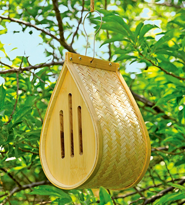 Review of Gardener's Supply Company Woven Bamboo Butterfly House