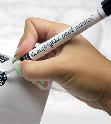Review of DecoArt Glass Paint Marker