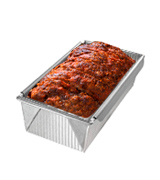 USA Pan 1157LF Bakeware Aluminized Steel Meat Loaf Pan with Insert