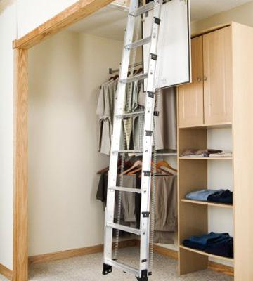 Review of Werner AA10 Televator Aluminum Universal Telescoping Attic Ladder