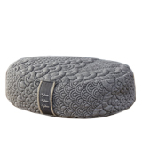 Brentwood Home Crystal Cove Meditation Pillow Cushion, Oval