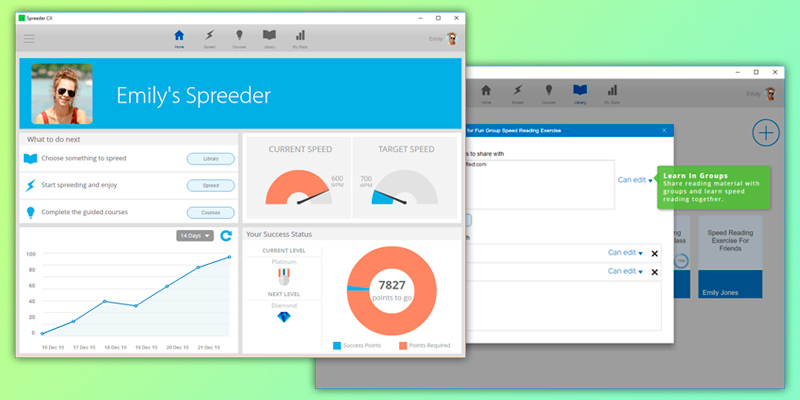 Detailed review of Spreeder You Can Start Speed Reading Instantly