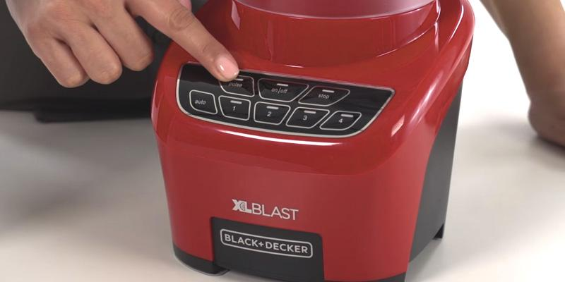 Review of BLACK+DECKER BL4000R XL Blast Drink Machine, Margarita Blender
