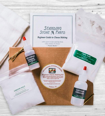Review of Standing Stone Farms Basic Beginner Cheese Making Kit for Soft Cheeses