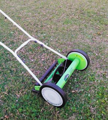 Review of GreenWorks 25052 Reel Lawn Mower with Grass Catcher