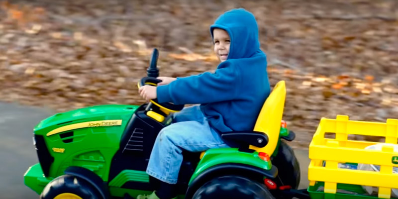 Peg Perego John Deere Ground Force Tractor application