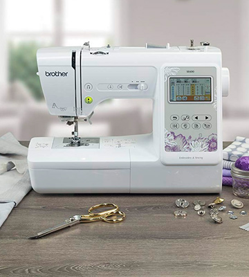 Review of Brother SE600 Computerized Sewing and Embroidery Machine