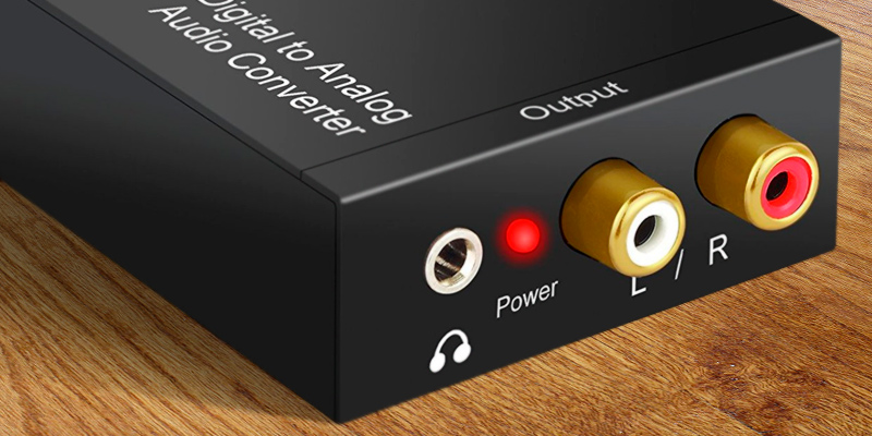 PROZOR DAC001 Digital to Analog Converter in the use
