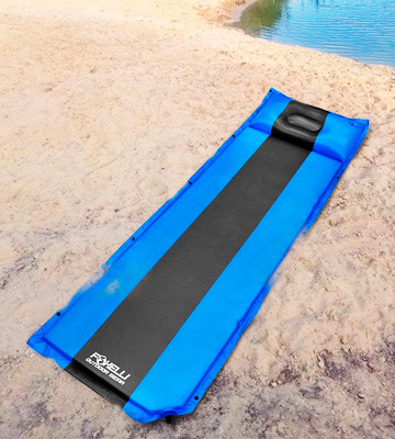 Review of Foxelli Self Inflating Sleeping Pad