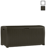 Suncast DBW9200 Wicker Resin Deck Box