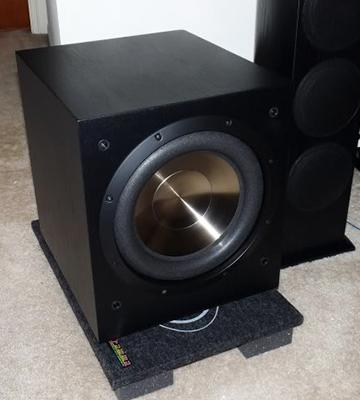 Review of BIC America F12 Front Firing Powered Subwoofer