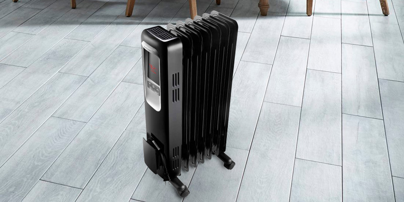 Review of Aireplus Space Heater 1500W Oil Filled Radiator Electric Heater