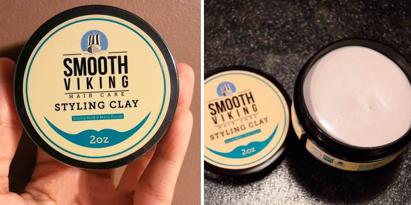 Review of Smooth Viking Beard Care Strong Hold & Matte Finish Hair Clay