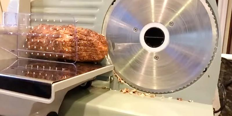 Detailed review of ARKSEN Electric Deli Meat Slicer