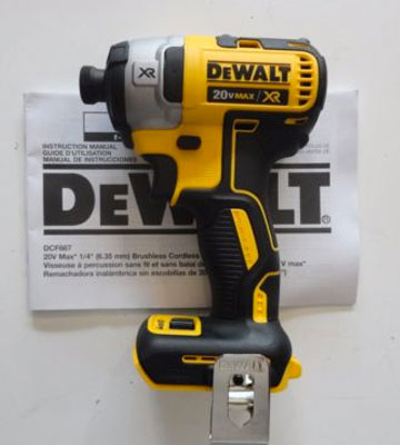 Review of DEWALT DCF887B 20V MAX XR Li-Ion Brushless