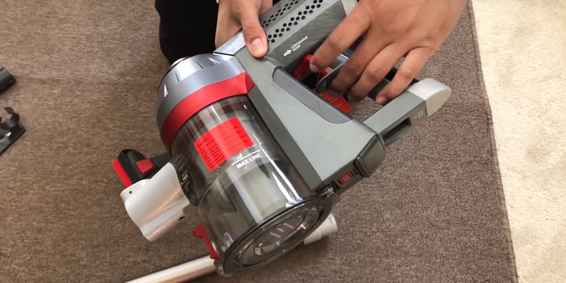 Review of Deik EV5617 Cordless Stick Vacuum Cleaner