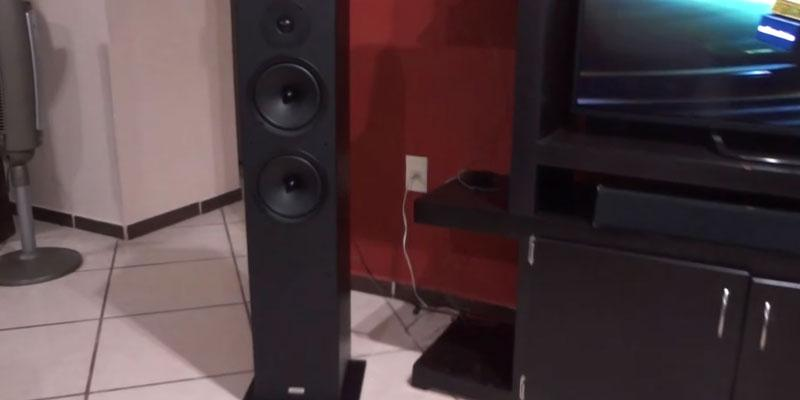 Onkyo SKF-4800 2-Way Bass Reflex Floor-standing Speakers in the use