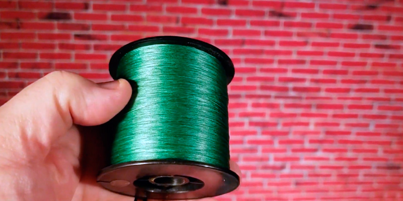 Review of Hercules Cost-Effective Super Strong 4 Strands Braided Fishing Line 6LB to 100LB Test