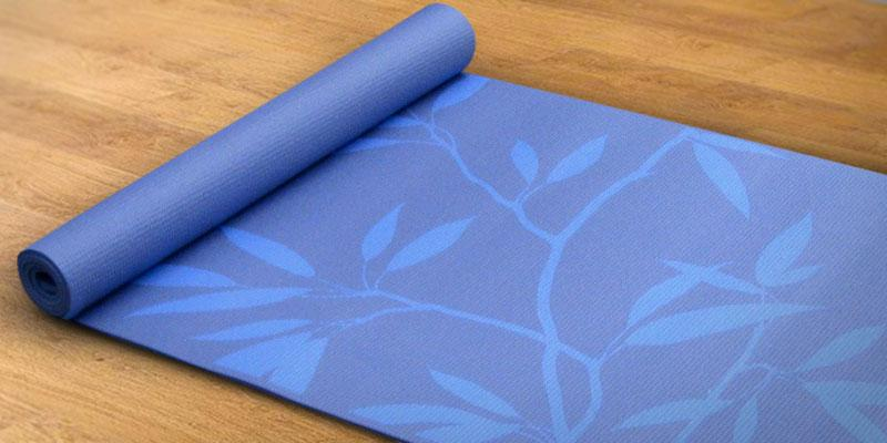 Gaiam Print Premium Yoga Mats in the use