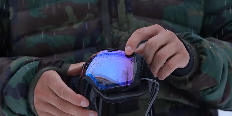 Smith Optics I/OX Goggle in the use