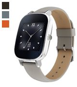 ASUS ZenWatch 2 (WI502Q-SL-BD-Q) Smart Watch with Quick Charge Battery