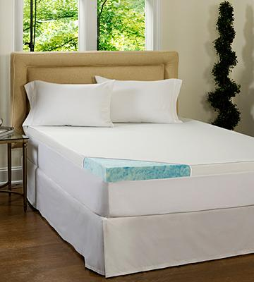 Review of Beautyrest M10090-00847-OS 3-inch Gel Memory Foam