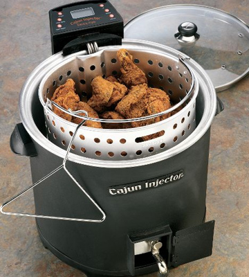 Review of Cajun Injector Electric Turkey Fryer