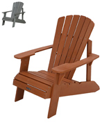 Lifetime 60064 Faux Wood Adirondack Chair
