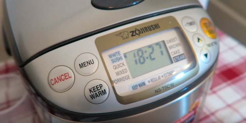 Review of Zojirushi NS-TSC10 Rice Cooker and Warmer