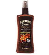 Hawaiian Tropic Protective Broad Spectrum Sun Care Sunscreen Spray