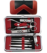 Beauty Bon 10 pcs Stainless Steel Hygiene Kit Manicure Pedicure Set