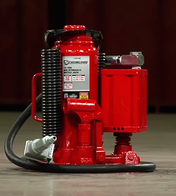 Review of Torin TA92006 Big Red Air Hydraulic Bottle Jack (20 Ton Capacity)
