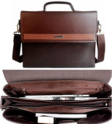Review of Kenox Vintage Laptop Bag Messenger Handbag