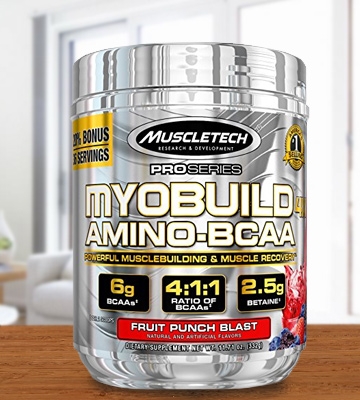Review of MuscleTech MUS1101/100/101 Post Workout Amino BCAA Supplement