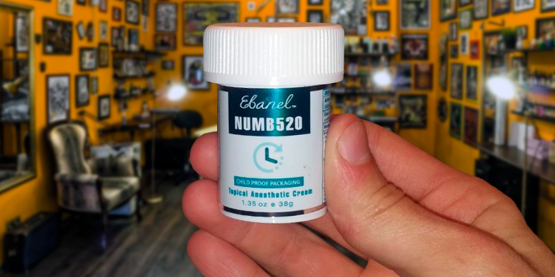 Review of Ebanel Laboratories NUMB520 5% Lidocaine Topical Numbing Cream for Painkilling