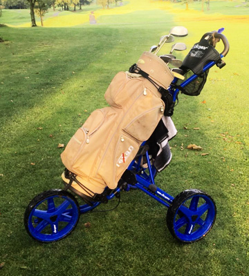 Review of Clicgear Model 3.5+ Golf Push Cart