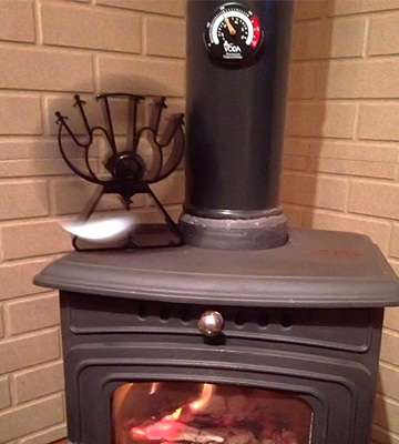 Review of VODA VDSF624B Heat Powered Stove Fan