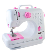 NEX EAT0022 Portable Sewing Crafting Mending Machine with 12 Built-In Stitched