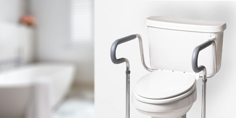 Review of Medline G30300H Guardian Toilet Safety Rail with adjustable height