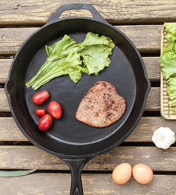 Review of Utopia Kitchen UK0040 Cast Iron Skillet
