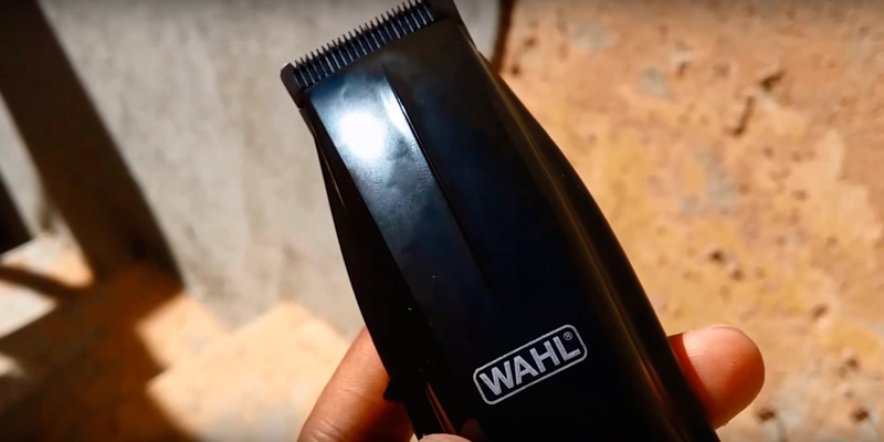 Wahl 5537-1801 Beard Trimmer with Bonus Personal Trimmer in the use