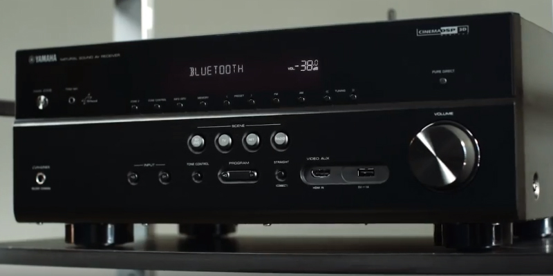Detailed review of Yamaha RX-V383BL 4K Ultra HD AV Receiver with Bluetooth
