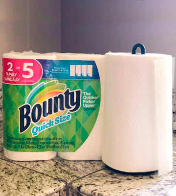Review of Bounty Quick-Size Family Rolls