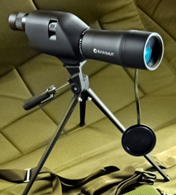 Review of BARSKA 20-60x60 Waterproof Spotting Scope