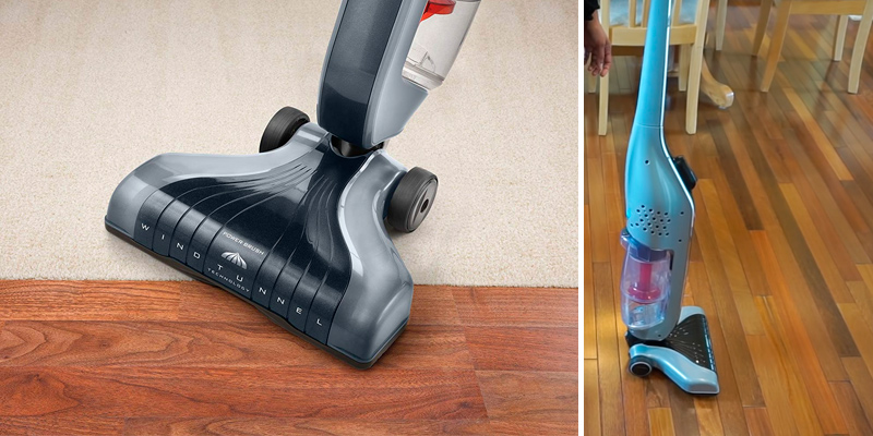 Hoover SH20030 Lightweight Corded Stick Vacuum in the use