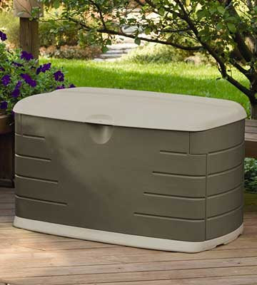 Review of Rubbermaid Deck Box with Seat