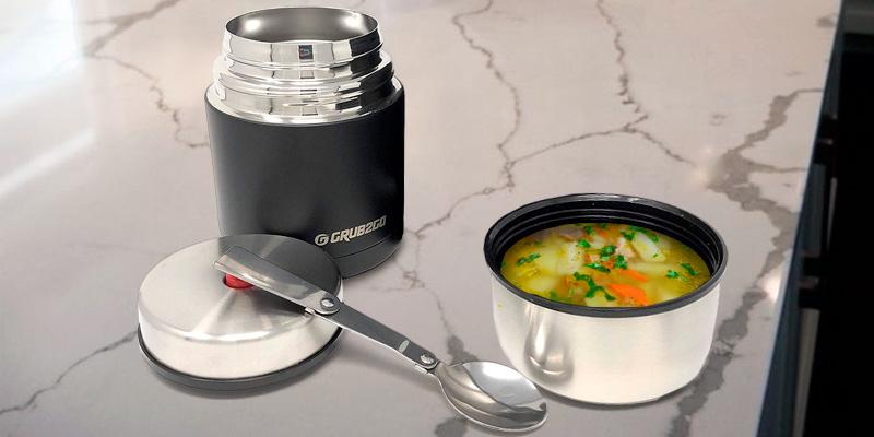 Review of GRUB2GO Stainless Steel Food Jar Set