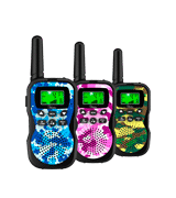 Huaker 3 Pack Kids Walkie Talkies