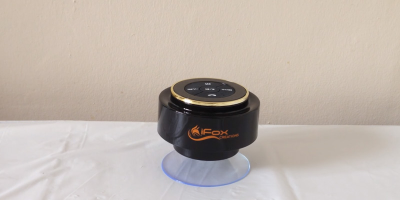 Review of iFox iF012 Bluetooth Shower Speaker